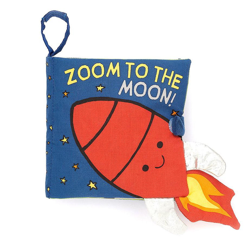 Soft Books - Jellycat Zoom To The Moon Soft Book