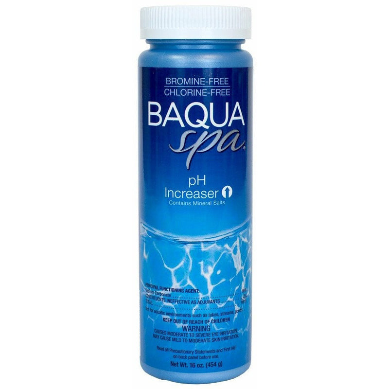 Spa Chlorine Alternatives - Baqua Spa PH Increaser (16 Oz)