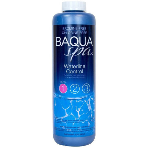 Spa Chlorine Alternatives - Baqua Spa Waterline Control (1 Qt)