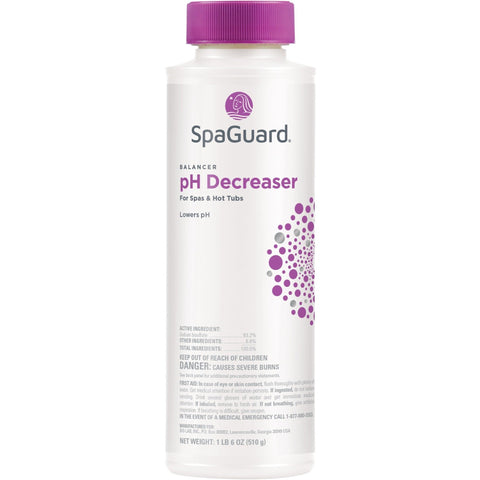 SpaGuard pH Decreaser (22 oz)- - Anglo Dutch Pools & Toys