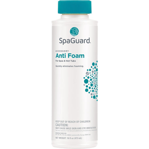 SpaGuard Anti-Foam (1 pt)- - Anglo Dutch Pools & Toys