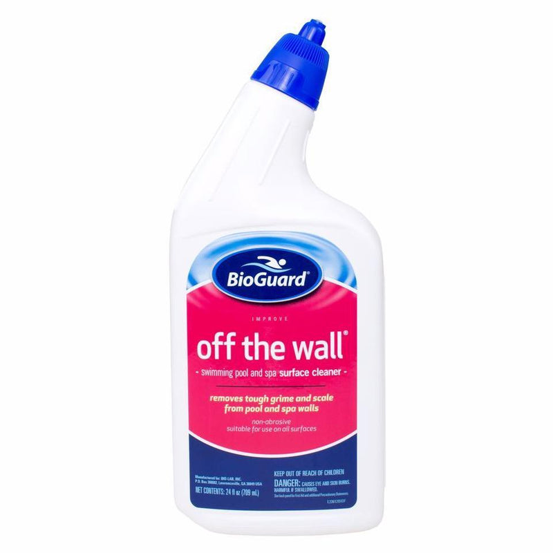 Spa Water Enhancers & Cleaners - SpaGuard Off The Wall Surface Cleaner (24 Oz)