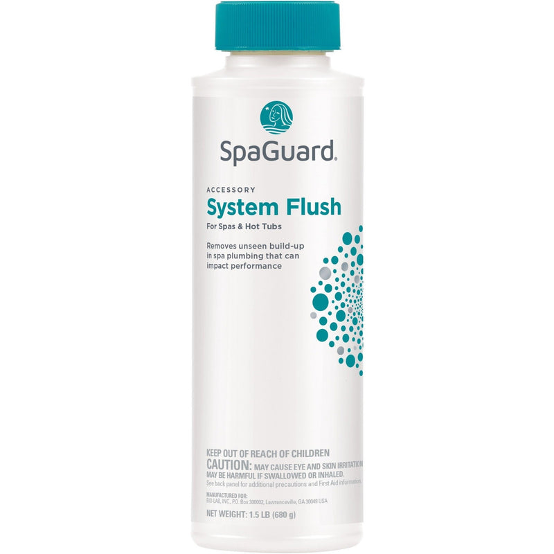 Spa Water Enhancers & Cleaners - SpaGuard System Flush (24 Oz)