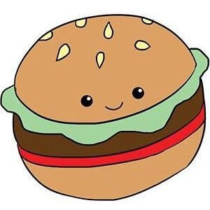 Squishable Comfort Food Hamburger 15