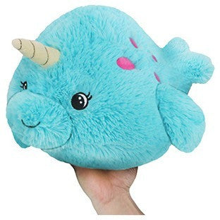 "Squishable Mini Baby Narwhal 7"" - Squishables - Anglo Dutch Pools and Toys"