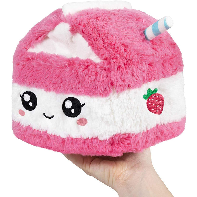 Squishable Mini Comfort Food Strawberry Milk Carton 7""