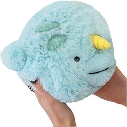 "Squishable Mini Narwhal 7"" - Squishables - Anglo Dutch Pools and Toys"