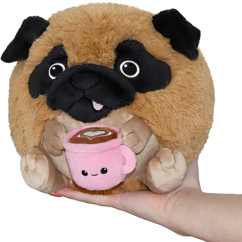 Squishables - Squishable Mini Pug Holding A Mug 7""