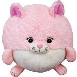 "Squishable Pink Kitty 15"" - Squishables - Anglo Dutch Pools and Toys"