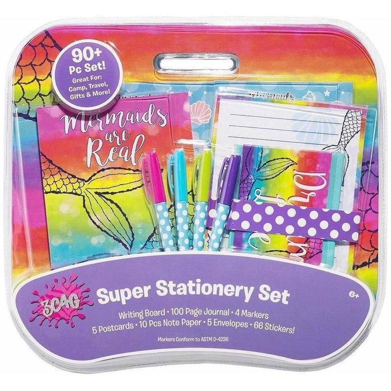 3C4G Mermaid Super Stationery Set - Stationery Sets - Anglo Dutch Pools and Toys