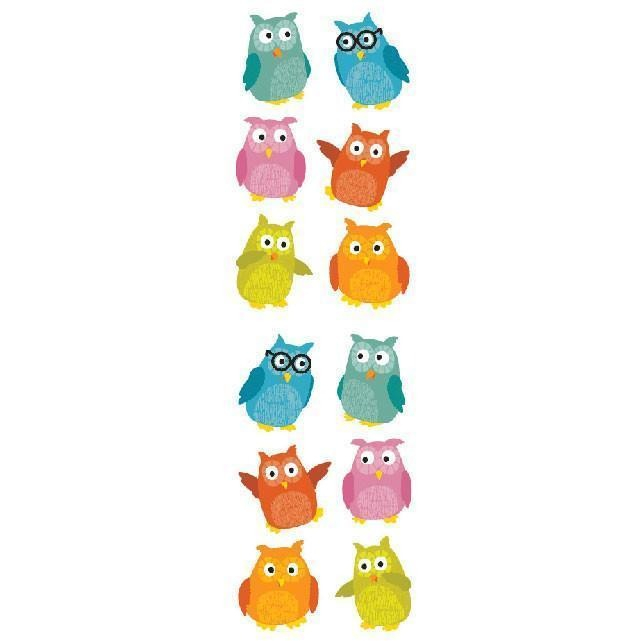 Mr.s Grossman's Chubby Owls Stickers