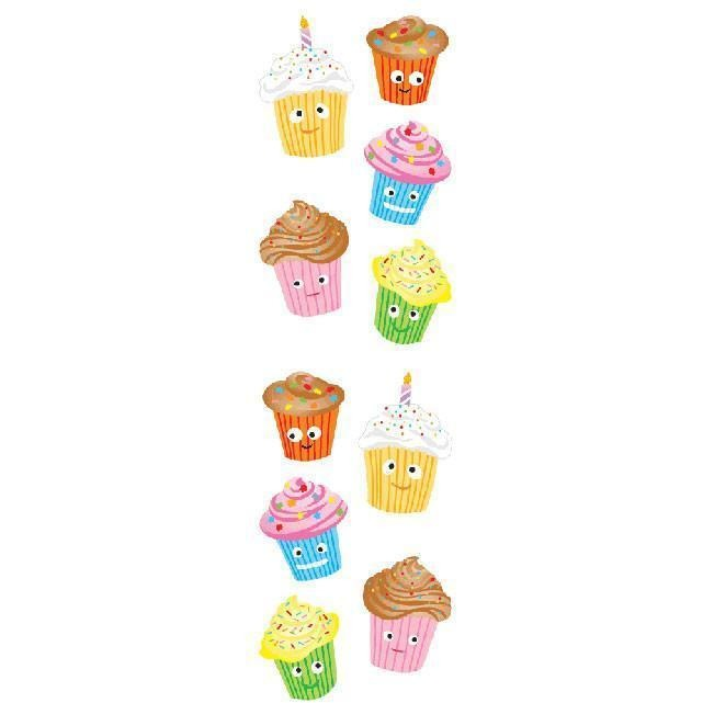 Mr.s Grossman's Cutie Cupcakes Stickers