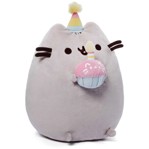 "Gund Pusheen 10.5"" Birthday Plush - Licensed Plush Characters - Anglo Dutch Pools and Toys"