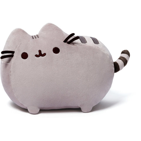 "Gund Pusheen 12"" Grey Plush- - Anglo Dutch Pools & Toys"