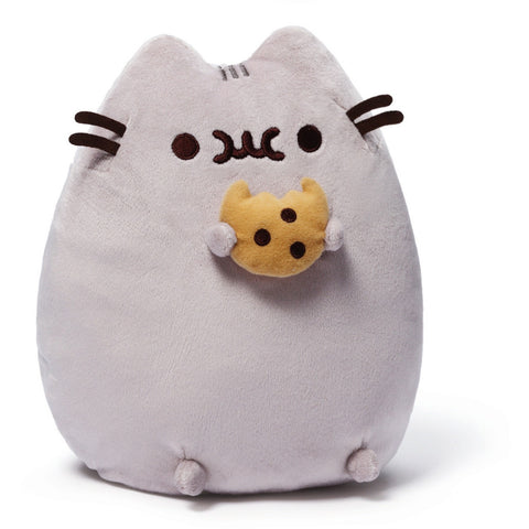 "Gund Pusheen 9.5"" Cookie Plush- - Anglo Dutch Pools & Toys"