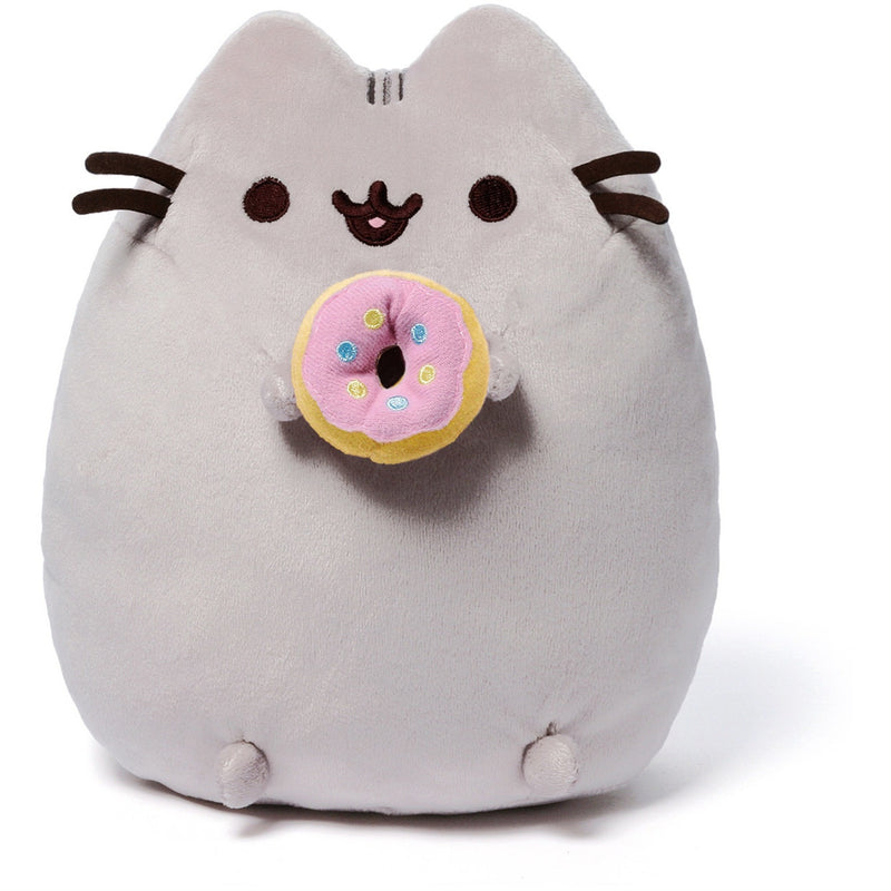 "Gund Pusheen 9.5"" Donut Plush - Licensed Plush Characters - Anglo Dutch Pools and Toys"