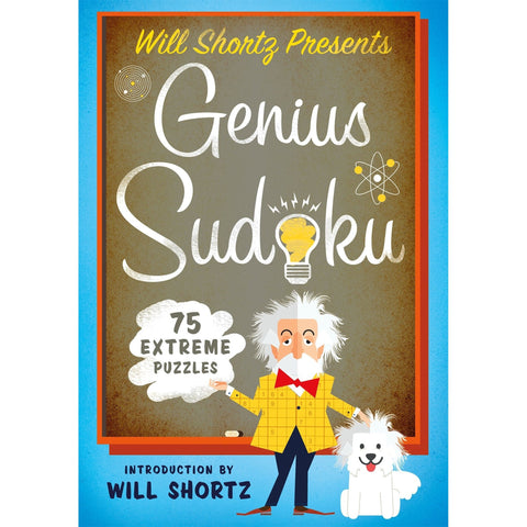 Will Shortz Presents Genius Sudoku: 200 Extreme Puzzles Book- - Anglo Dutch Pools & Toys