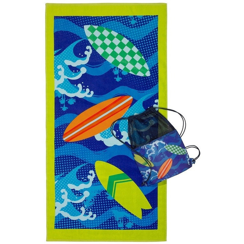Swim Bags And Towels - 3C4G Surf's Up Towel & Sling Bag