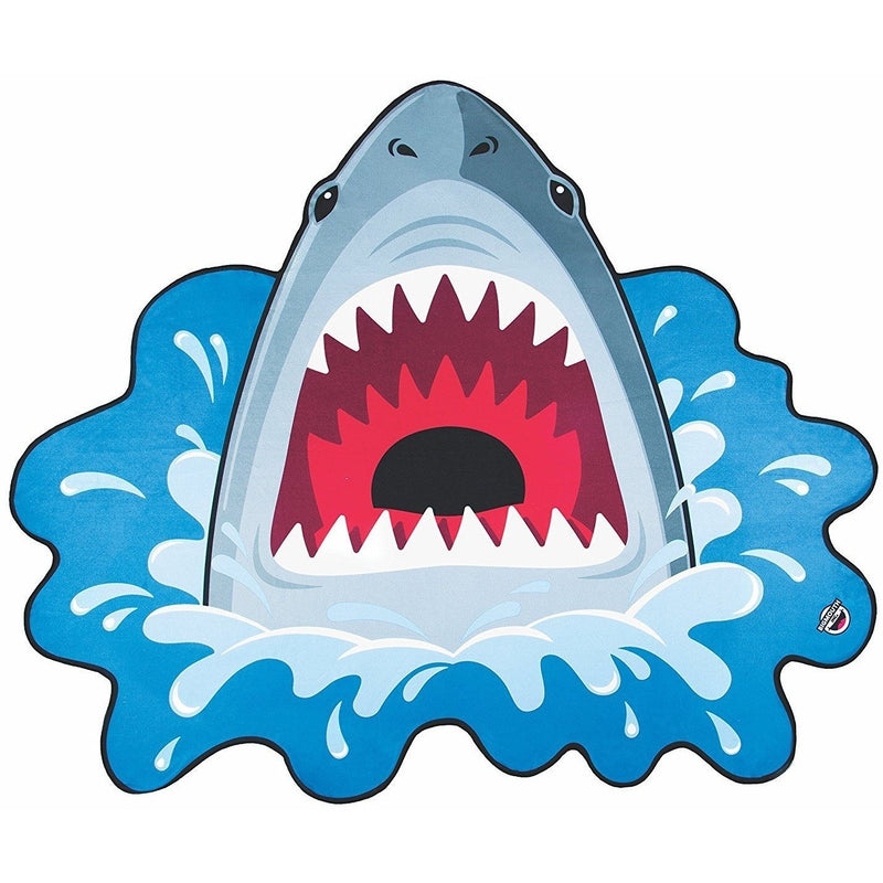 Swim Bags And Towels - BigMouth Gigantic Shark Beach Blanket