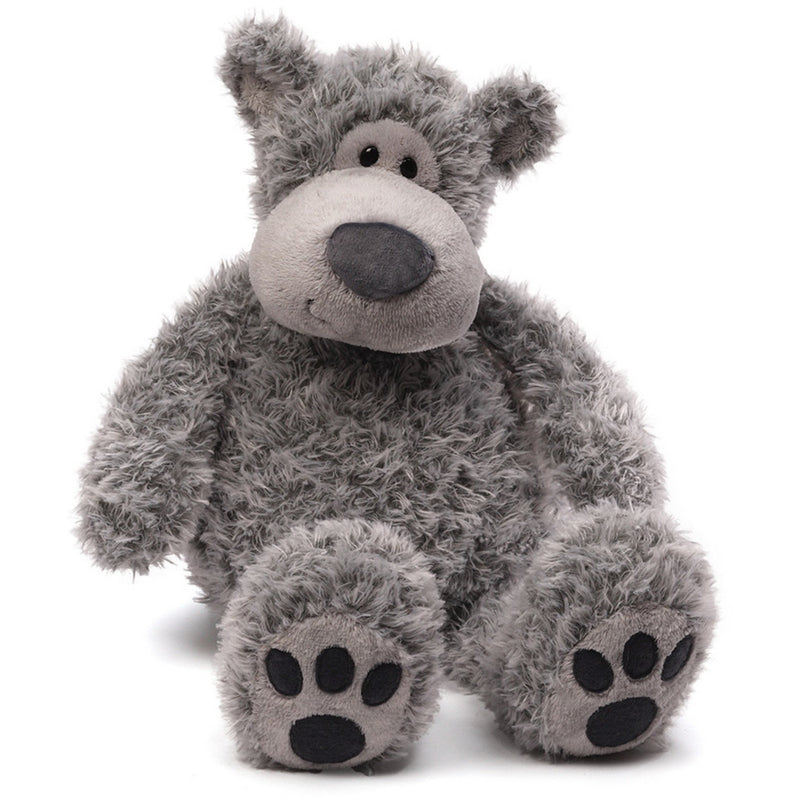 "Gund Slouchers Bear Gray 20"" - Teddy Bears - Anglo Dutch Pools and Toys"