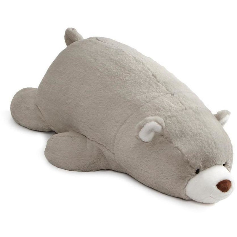 Teddy Bears - Gund Snuffles Laying Gray 27""