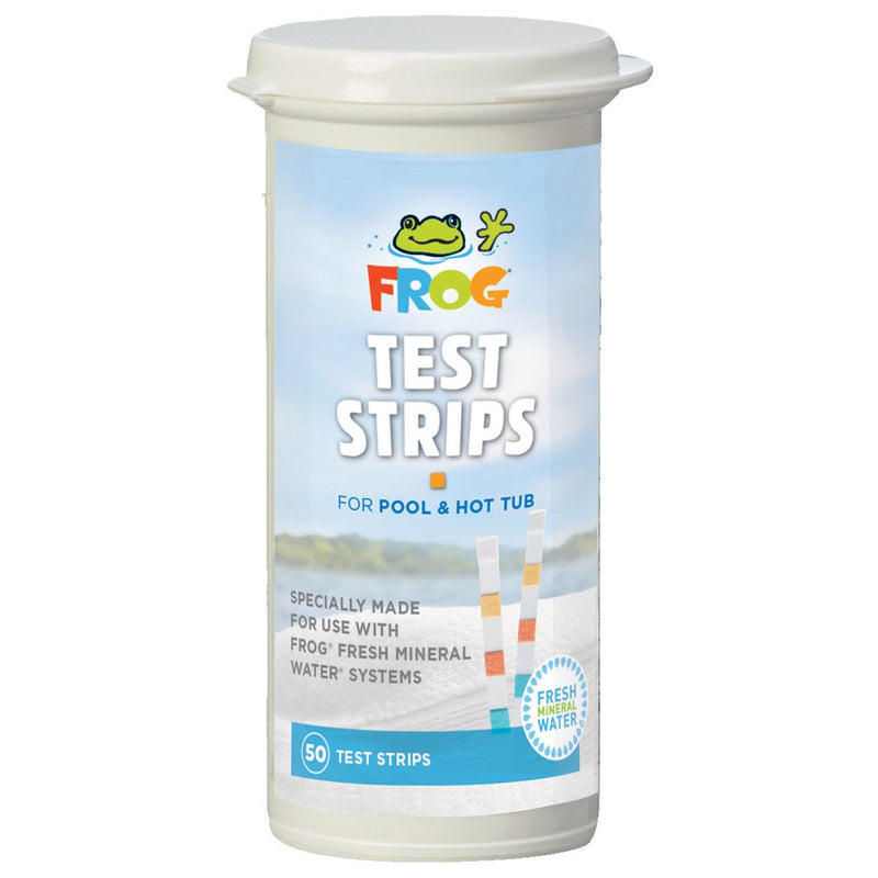 Testing Kits And Strips - Pool Frog Pool And Spa Test Strips (50 Count)