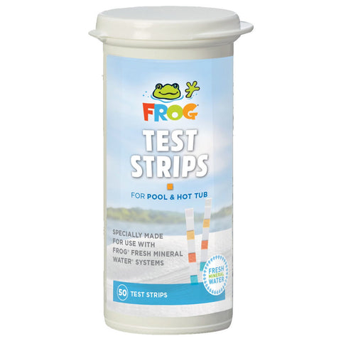 Pool Frog Pool and Spa Test Strips (50 count)- - Anglo Dutch Pools & Toys