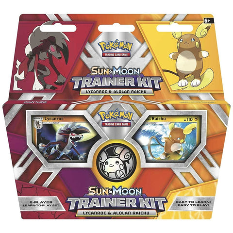 Trading Cards - Pokémon TCG: Sun & Moon Trainer Kit—Alolan Raichu And Lycanroc