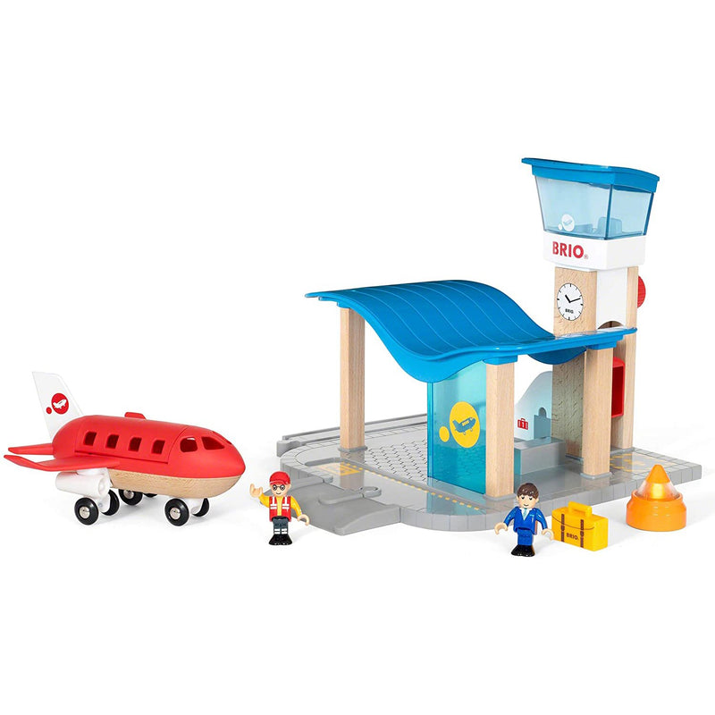 Trains And Train Sets - Brio Airport With Control Tower