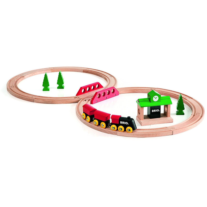Brio Classic Figure 8 Train Set- - Anglo Dutch Pools & Toys  - 1