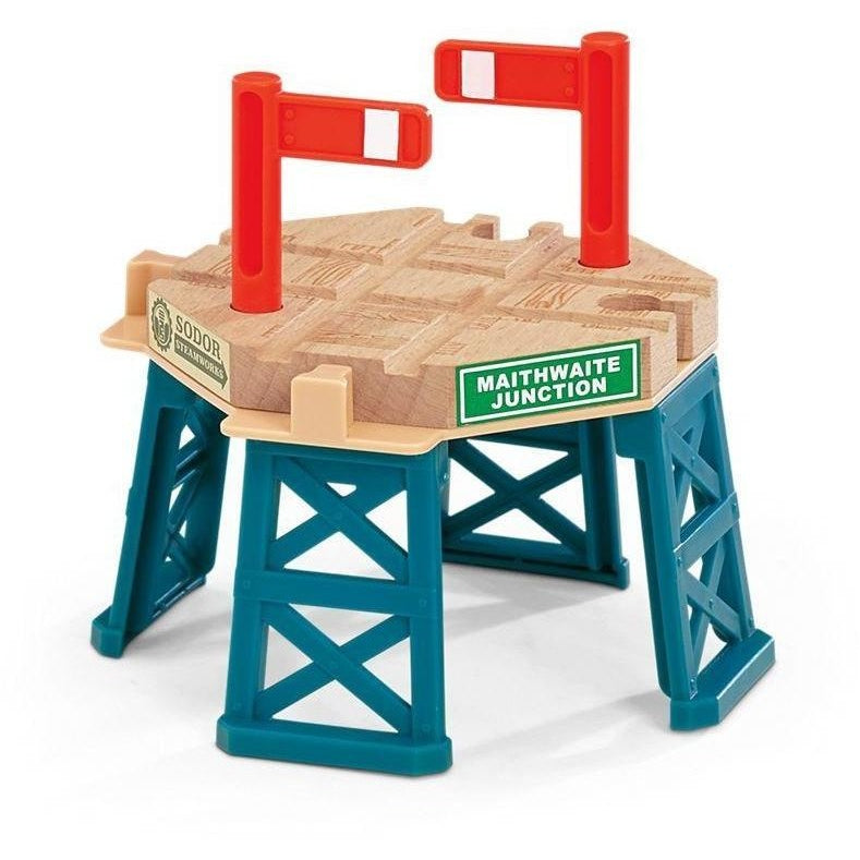 Thomas u0026 Friends Wooden Railway Elevated Crossing Gate  sc 1 st  Anglo Dutch Pools and Toys & Thomas u0026 Friends Wooden Railway Elevated Crossing Gate | Trains and ...