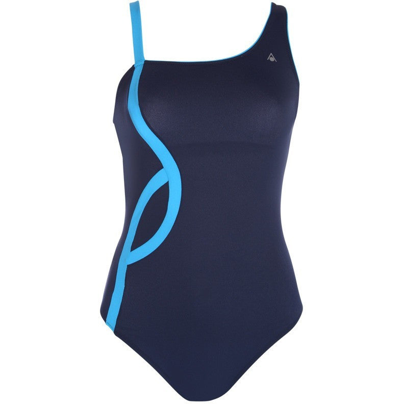 Aqua Sphere Arleen, Navy & Turquoise - Women's Active Fitness - Anglo Dutch Pools and Toys