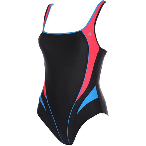 Aqua Sphere Lima, Black & Red - Women's Active Fitness - Anglo Dutch Pools and Toys