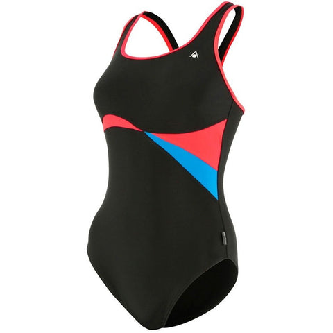 Aqua Sphere Maputo, Black & Red - Women's Active Fitness - Anglo Dutch Pools and Toys