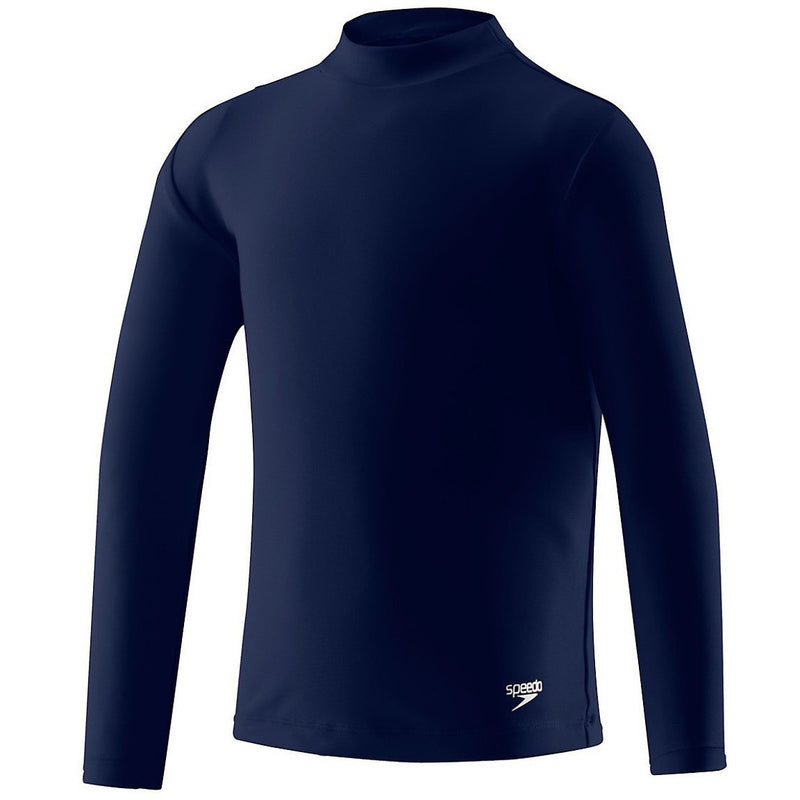 Speedo Kids Unisex Long Sleeve Rash Guard- Deep Water - Youth Wetsuits and Rash Guards - Anglo Dutch Pools and Toys