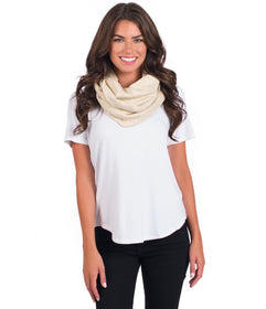 Absurdly Soft Infinity Scarf
