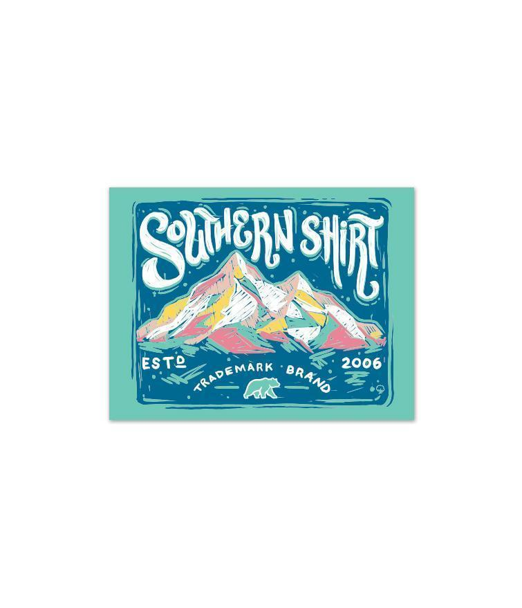 Southern Shirt Accessory Opal / OS Chalky Mountains Sticker