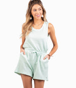 Quit Playin Playsuit - Emerald Cove