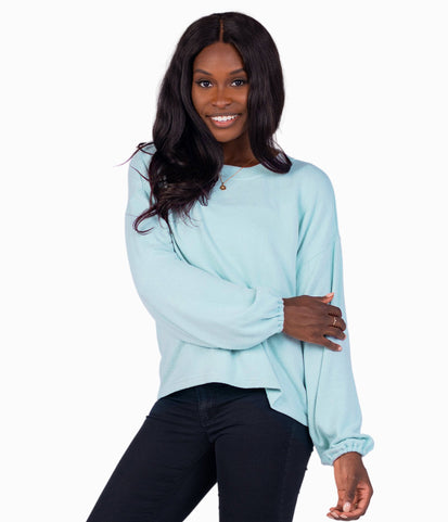 Brushed Bella Pullover - Aurora