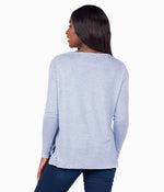 Sincerely Soft Heather Fleece - Dusty Blue