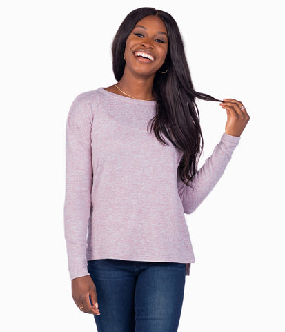 Sincerely Soft Heather Fleece - Woodrose