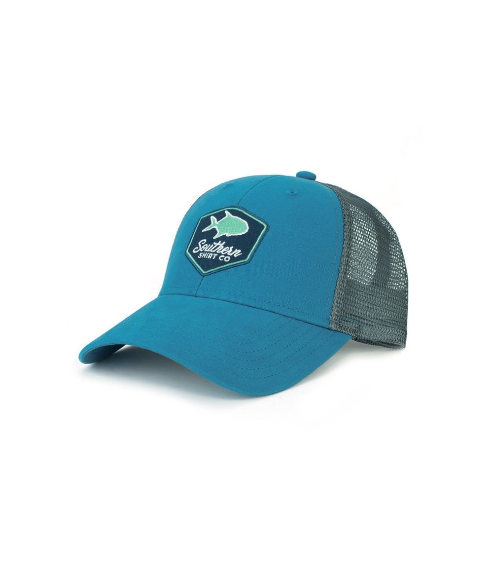 Southern Shirt Headwear Sea Blue / OS Permit Badge Trucker Hat