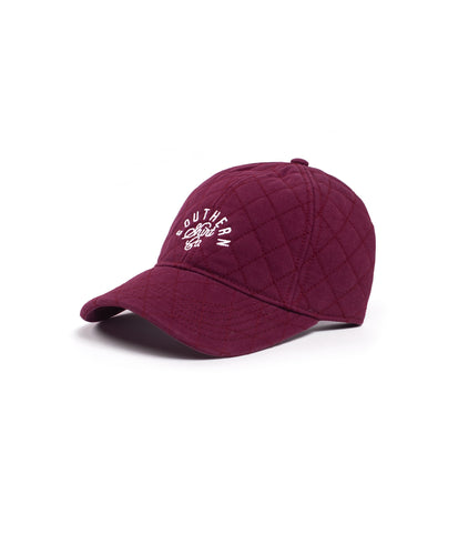 Southern Shirt Headwear Dark Burgundy / OS Quilted Signature Cap