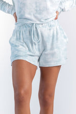 Wildest Dreams Lounge Shorts - Crystal Blue