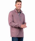 Back Nine Pullover - Oxen Red