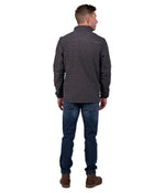 Canyon Quarter Zip - Brushed Nickel