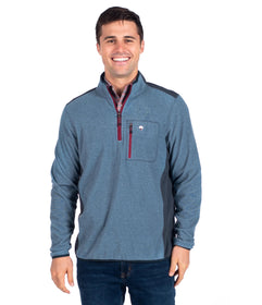 Trailhead Qtr Zip - Blue Wing
