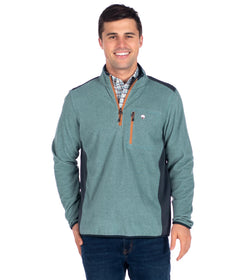 Trailhead Qtr Zip - Deep Atlantic
