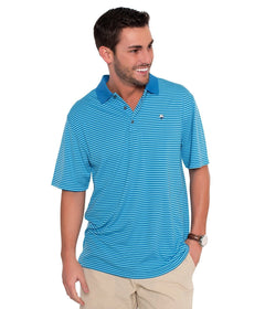 Charleston Stripe Polo - Regatta