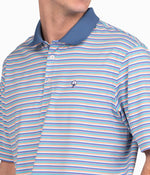 Dawson Stripe Polo - Throwback